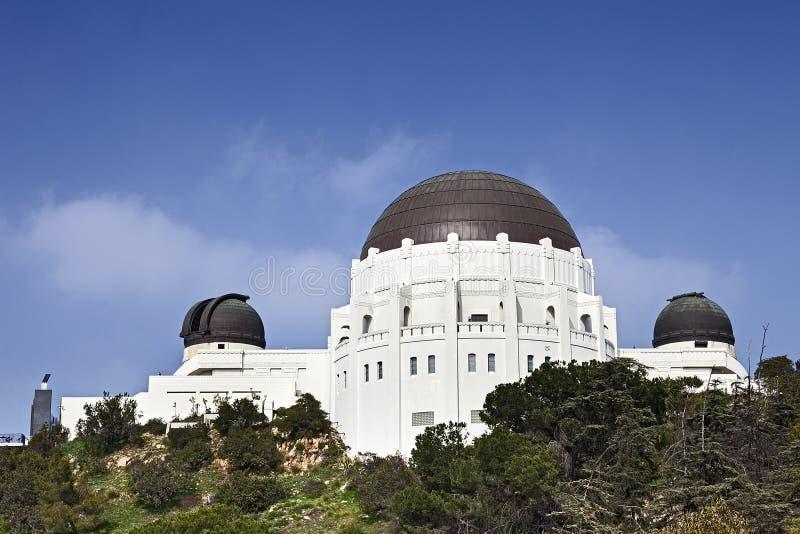 Griffith observatorium royaltyfria foton