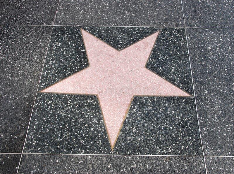 berömmelsestjärnan går arkivfoto
