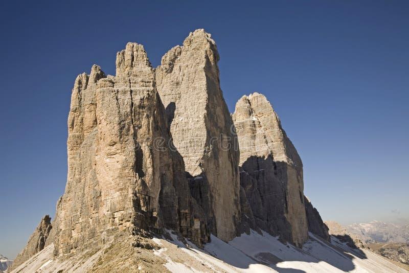 Berühmte Berge stockfotografie