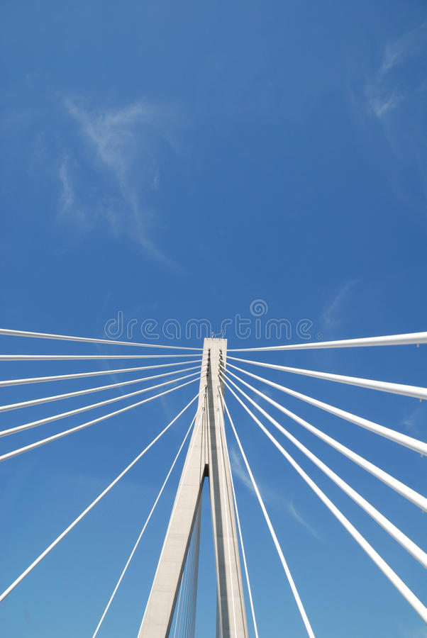 Berühmte Brücke in Dubrovnik, Kroatien lizenzfreies stockbild