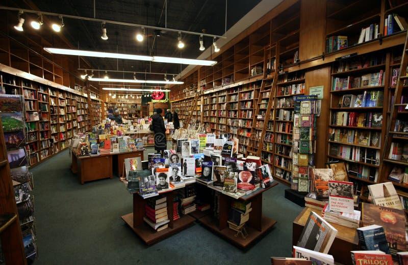 Berühmte Manhattan-Buchhandlung lizenzfreies stockbild