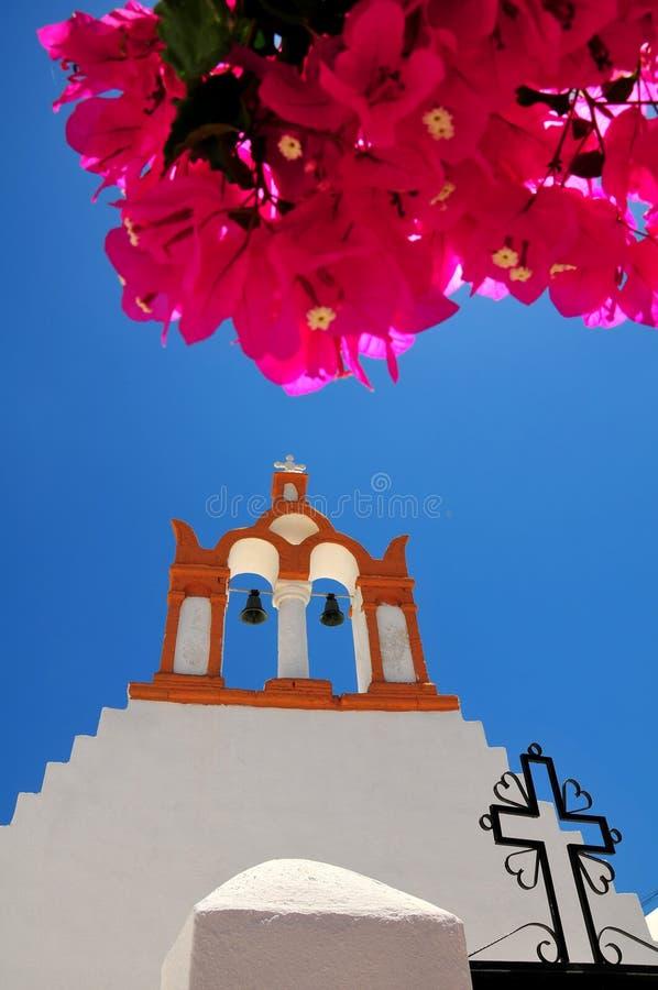 Berühmte Santorini Insel, Griechenland lizenzfreies stockfoto