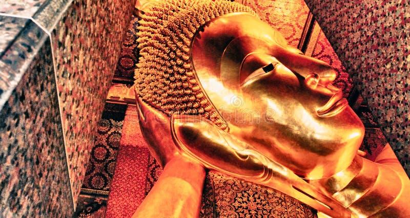 Berühmter Bangkok-Tempel, Achitectural-Detail stockbild