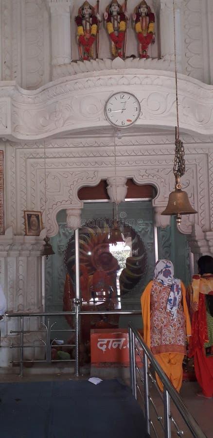 Berühmter religns Chhatisghar Tempel stockbilder