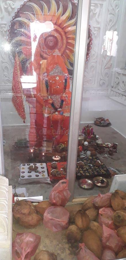 Berühmter religns Chhatisghar Tempel stockfotografie