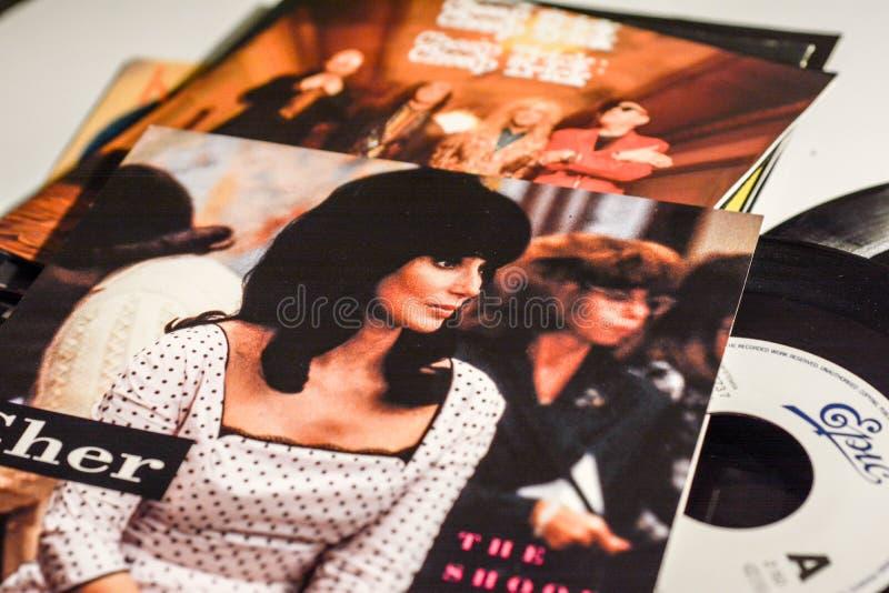 Berühmter Sternsänger und die Filme 1990 stockbild