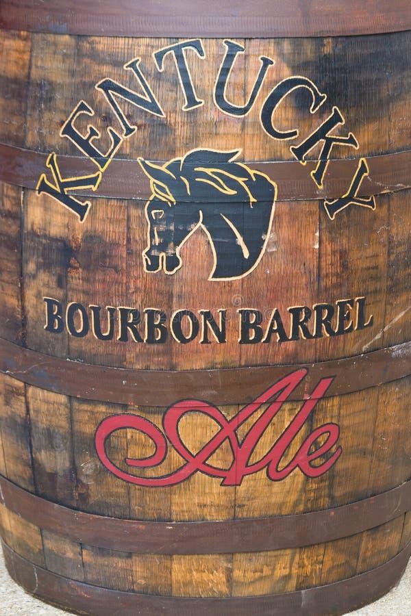 Berühmtes Fass-Ale Kentuckys Bourbon durch brauendes Alltech und destilliert lizenzfreie stockfotografie