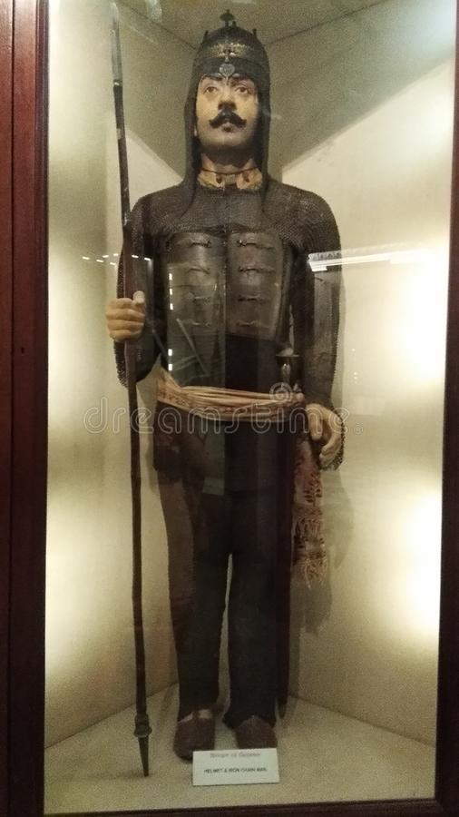 Berühmtes Museum in Jaipur rajsthan Könige alles Eigentum sind hier anwesend und 250 Jahre alte ägyptische Mama ist auch hier lizenzfreie stockfotografie