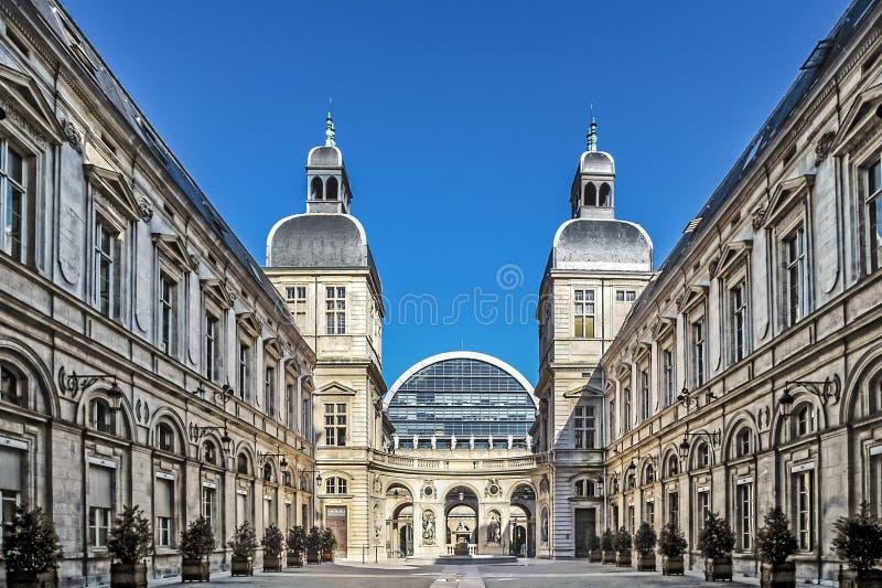 Berühmtes Opernhaus in Lyon lizenzfreies stockfoto