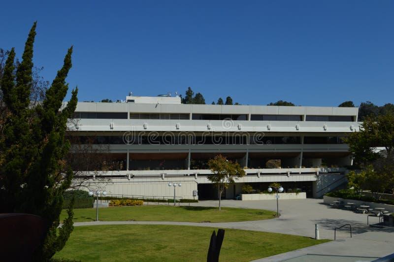 Berühmtes West-Covina Kalifornien Behördenviertel Star Treks stockfotos