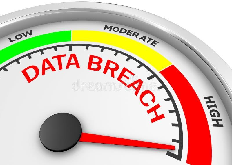 berach de données illustration libre de droits