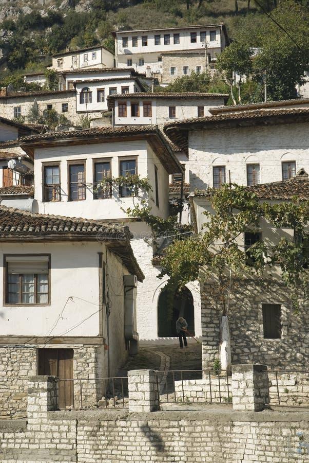 berat зодчества Албании стоковое изображение