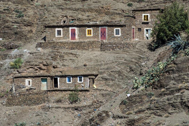 Berber falezy mieszkania zdjęcia royalty free