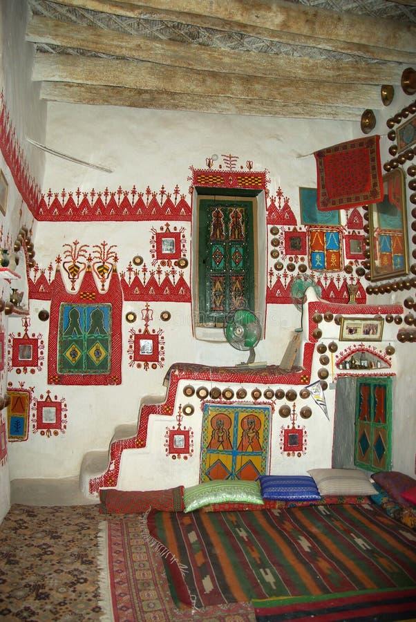 Berber house, Libya stock images