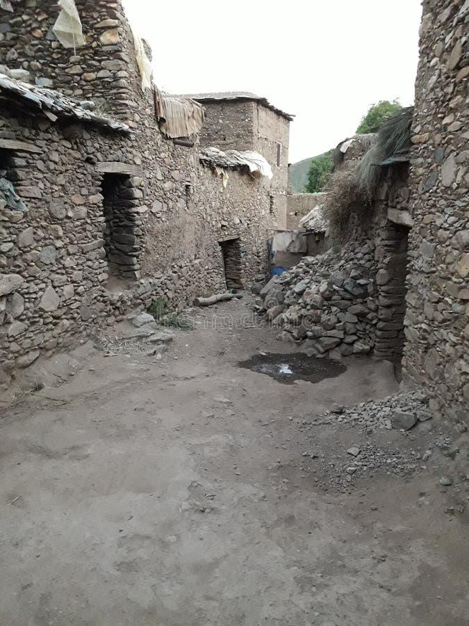 berber huis royalty-vrije stock foto