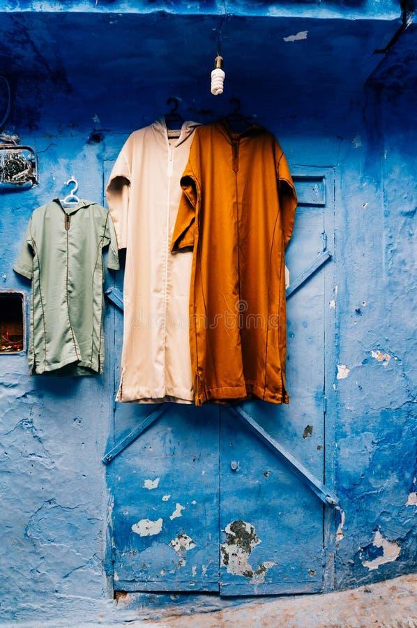 Berber kontusze w Chefchaouen, Maroko - zdjęcia royalty free