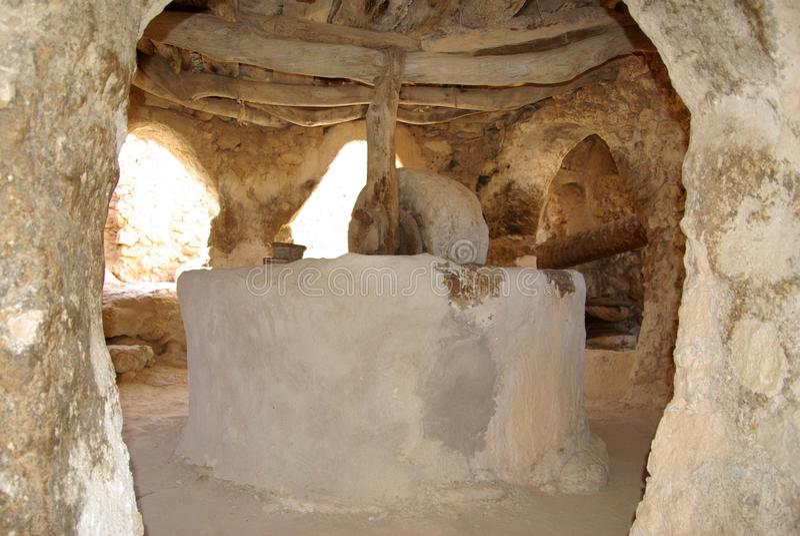 berber Libya nafciana prasa fotografia stock