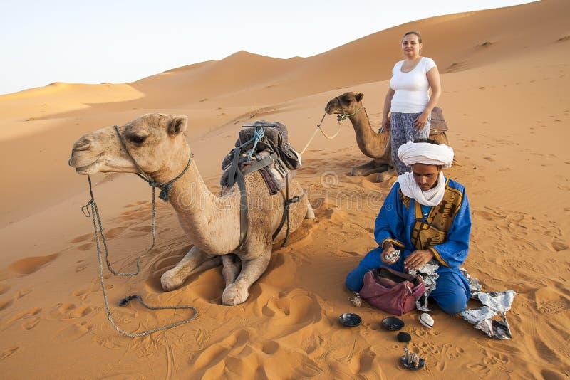 Berber ludzie obraz stock