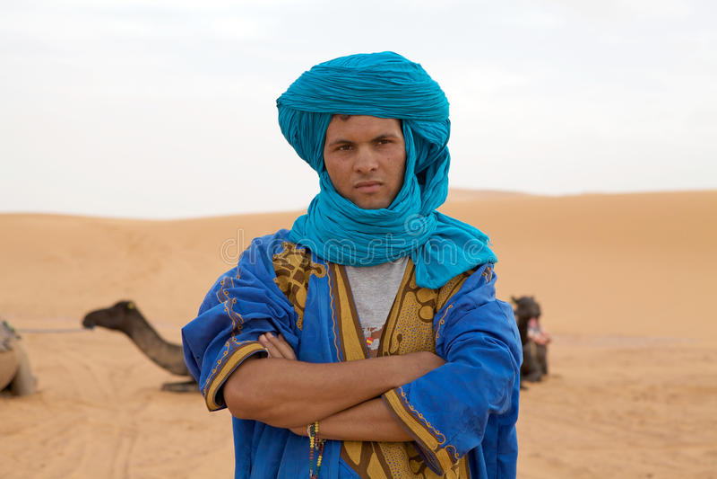 Berber mężczyzna obrazy stock