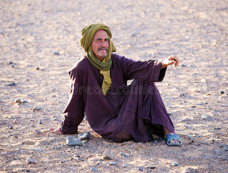 Berber Man stock image