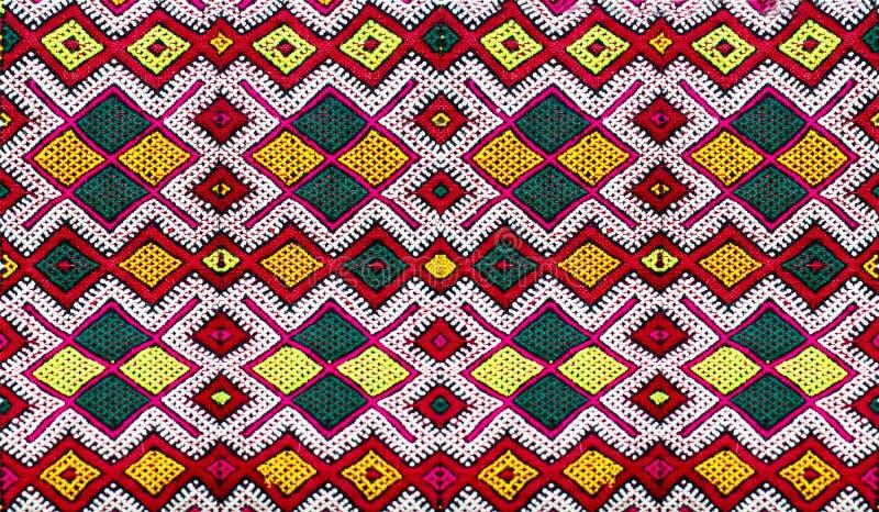 Berber maroccan tapijt stock foto