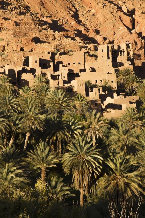 Berber ruiny W Tinghir fotografia stock