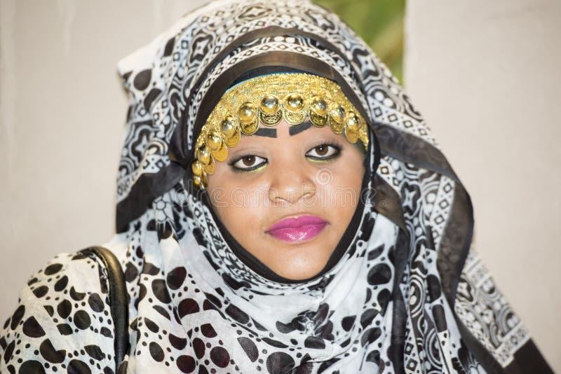 Berber woman Oman royalty free stock image