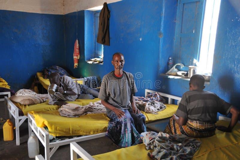 Berbera umysłowy szpital zdjęcia stock