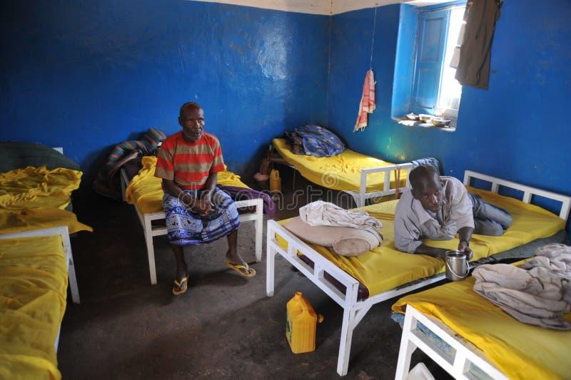 Berbera umysłowy szpital obrazy royalty free
