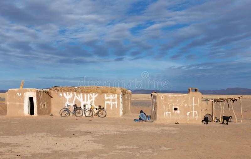 Berberhuis, Marokko stock foto
