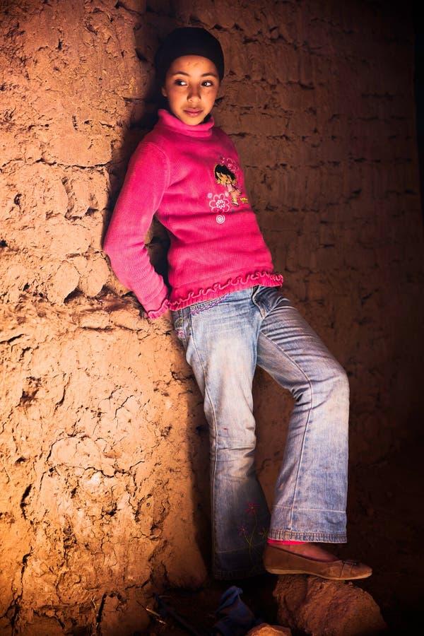 Berbermeisje stock foto's