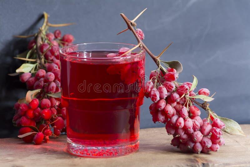 Berberysowa herbata obrazy stock