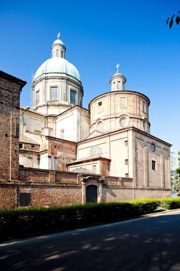 Bercelli, Piemonte, Italië royalty-vrije stock afbeeldingen