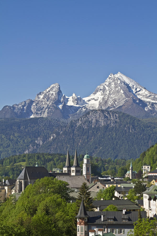 Berchtesgaden royaltyfri bild