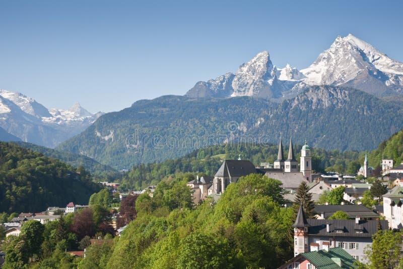Berchtesgaden 库存照片