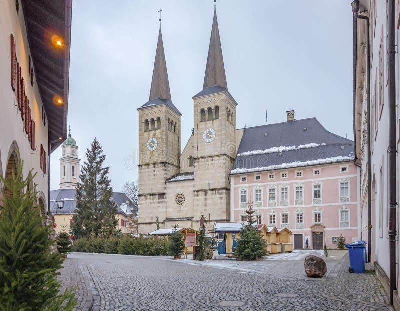 Berchtesgaden en Baviera imagen de archivo