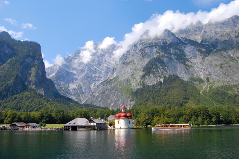 berchtesgaden koenigssee Германии ближайше стоковое фото