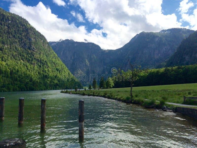 Berchtesgaden nationalpark royaltyfri foto