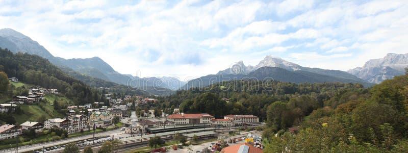 Berchtesgaden and Watzman Mountain royalty free stock photography