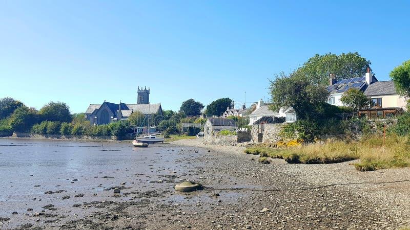 Bere Ferrers, manchmal Beerferris genannt, ist ein Dorf auf der Halbinsel Bere in Devon uk stockfotografie