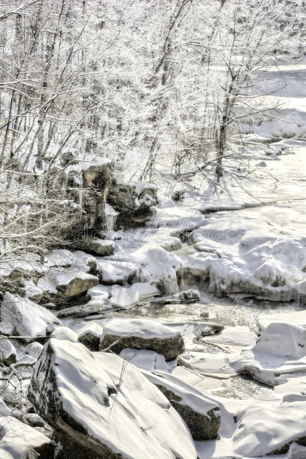 Bereadalingen in de Winter stock foto's