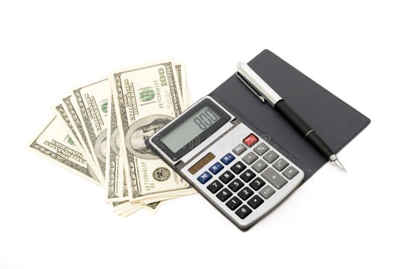 Berechnen und Finanzen lizenzfreie stockfotografie