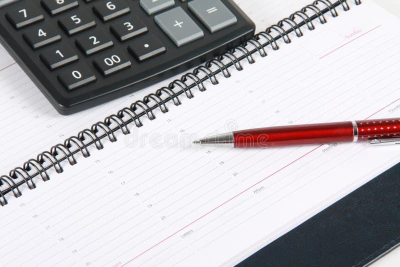 Berechnung der Finanzierung stockfoto