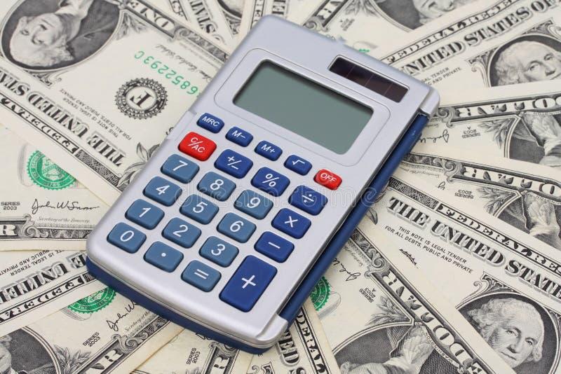Berechnung Ihrer Finanzen stockbild