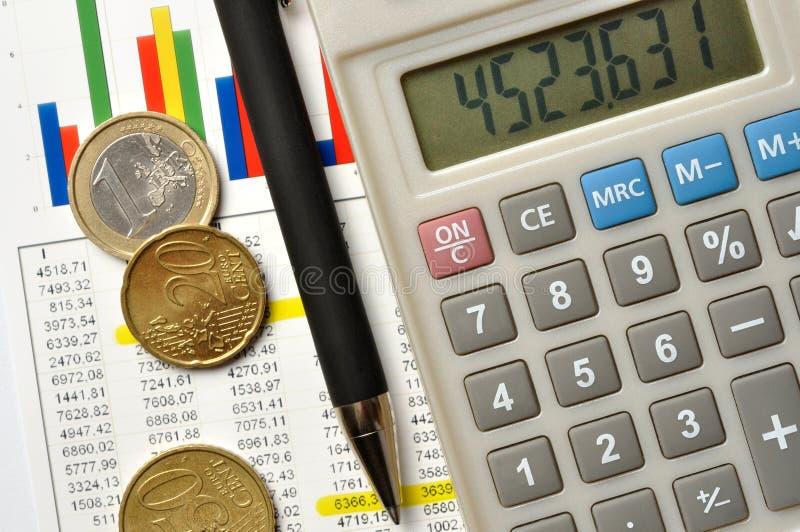 Berechnungen stockfotografie