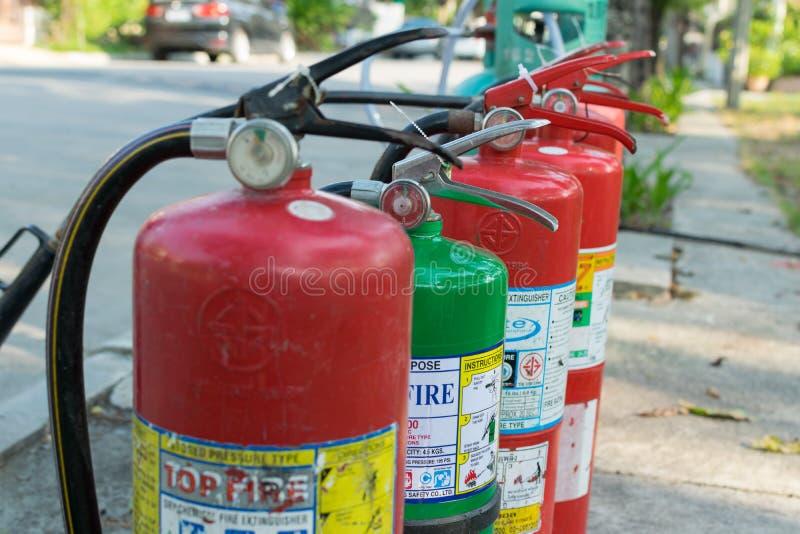 Beredskap för branddrillborr royaltyfria bilder