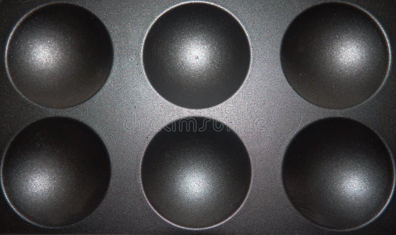 Bereichform auf Metallbeschaffenheit Schablone des Bereichs 3d vektor abbildung