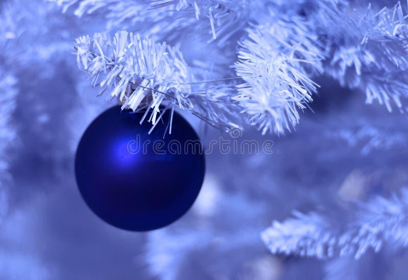 Bereiftes Weihnachten lizenzfreie stockfotografie