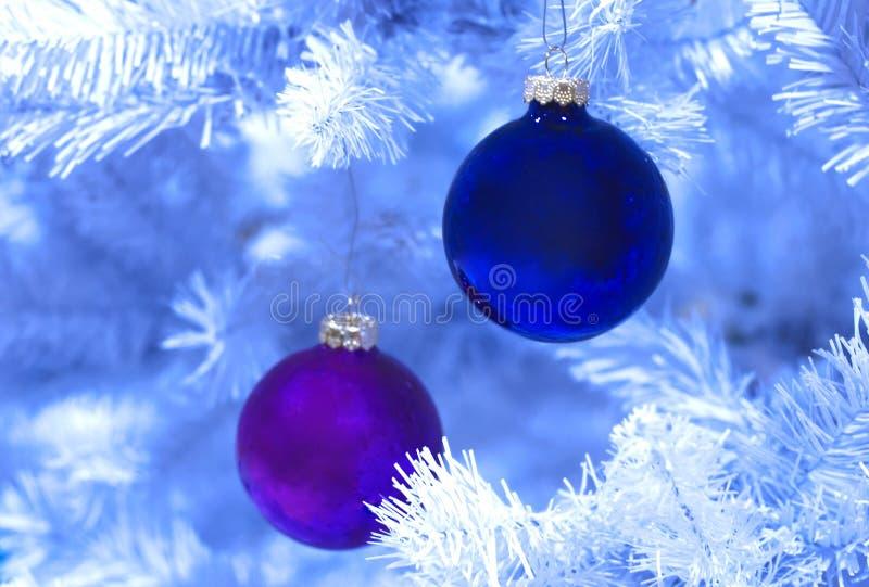 Bereiftes Weihnachten lizenzfreie stockfotos