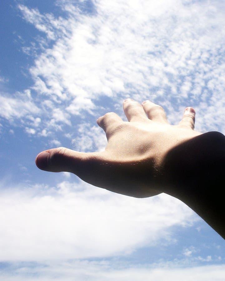 Bereik voor de hemel